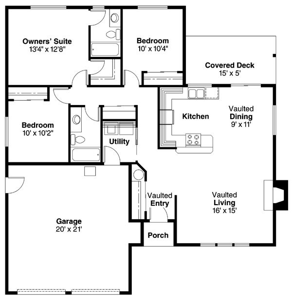 Plan house plans by for Flow wall 48 bonus set