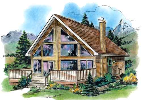 2 story house plans with main floor master bedrooms page 1 for Narrow lakefront home plans