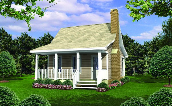 House plans with screened porches page 1 at westhome planners for Small cottage plans canada