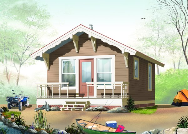 A Frame Cabin And Vacation House Plans Blueprints By