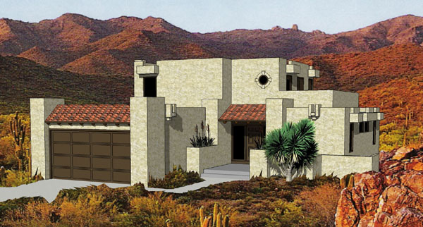 576 deep - Adobe Style House Designs