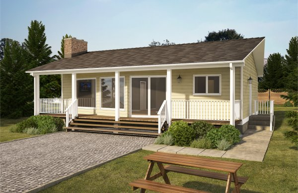 Less Than 1000 Sq Ft House Plans on 26 Foot Wide House Plans