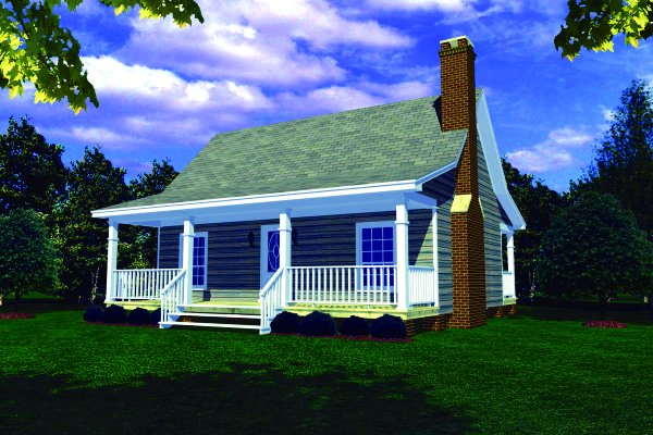 1 Beds 1 Baths 440 Sq Ft Plan 924 7: House Plans With Screened Porches Page 1 At Westhome Planners