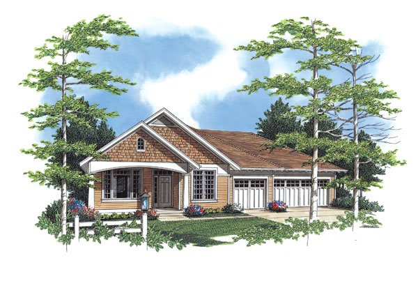 1 Story House Plans Between 1750 And 2500 Sq Ft With A 3