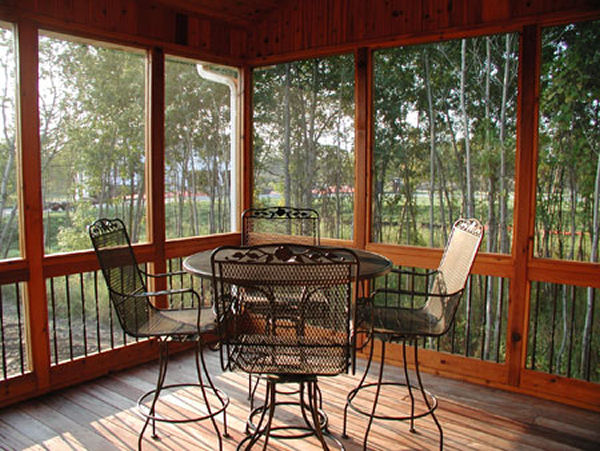 Plan house plans by for Craftsman screened porch