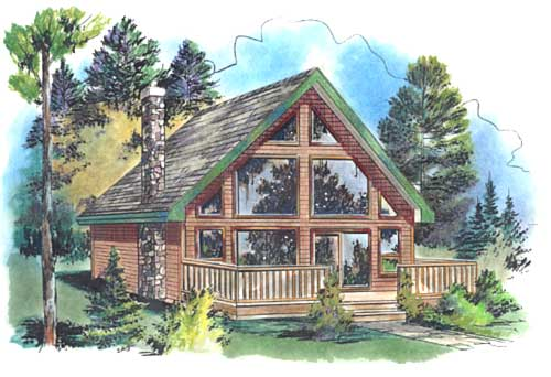 Tiny Home Designs: Plan No.135054 House Plans By WestHomePlanners.com