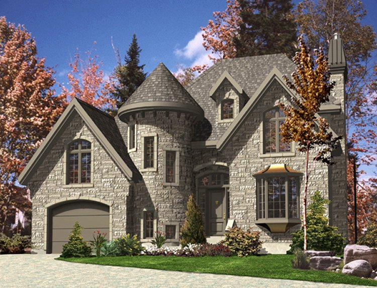 Chateauesque style house plans