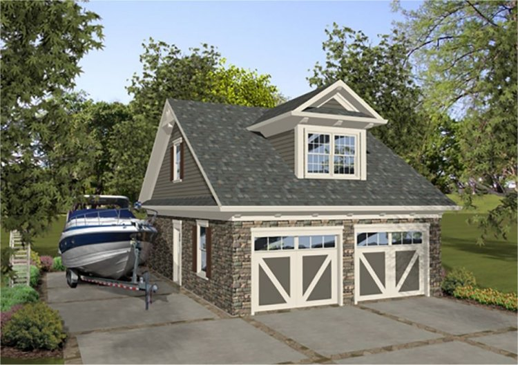 Plan house plans by for 2 car garage plans with living quarters