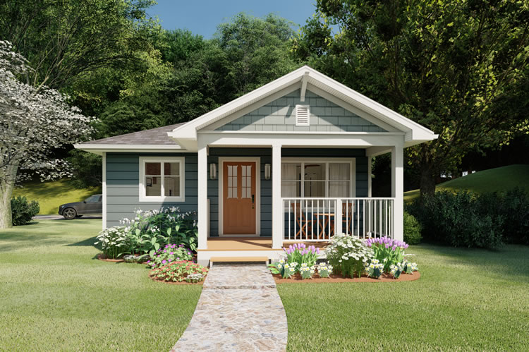 House Plans with Covered Rear Porches Page 1 at Westhome Planners on