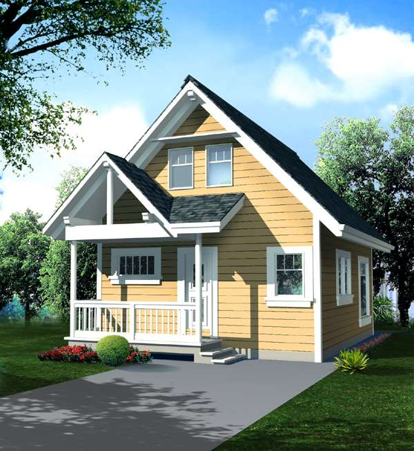House plans with lofts page 1 at westhome planners for Cottage plans with loft canada